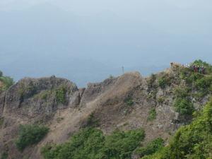 遠くから見た蟻ノ塔渡