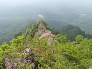 上から見た蟻ノ塔渡①