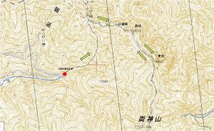 両神山行程図