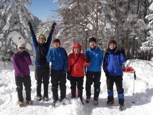 赤岳登攀メンバー6名!